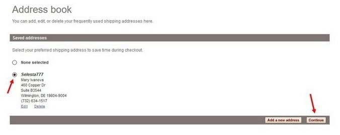 preferred-shipping-address