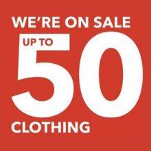 George — 50% скидка на одежду